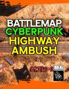 Cyberpunk High Ambush Battlemap