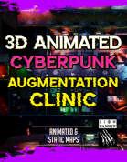 Animated Cyberpunk Augmentation Clinic