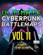 Ultimate Cyberpunk Map Pack Vol 11 [BUNDLE]