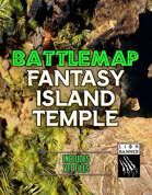 Fantasy Island Temple Static Battlemap