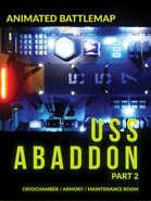 Animated Battlemap USS Abaddon Part 2 - ALIENS CryoChamber, Armory, etc