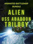 Animated Alien USS Abaddon Battlemap [BUNDLE]