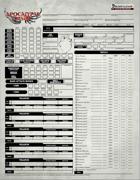 Apocalypse the Risen Fillable Character Sheet (PF1e)