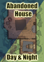Abandoned House Day/Night Different Sizes