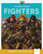 Fighters - Isometric Hero Pack 02