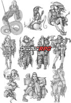 RPG characters: Pack1
