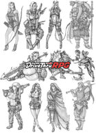 RPG characters: Pack2