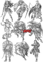 RPG characters: Pack3