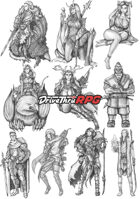 RPG characters: Pack4