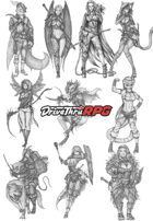 RPG characters: Pack10