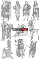 RPG characters: Pack11