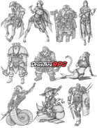 RPG characters: Pack12