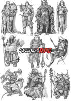 RPG characters: Pack13