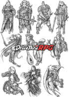 RPG characters: Pack16