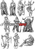 RPG characters: Pack19
