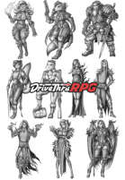 RPG characters: Pack26