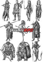 RPG characters: Pack34