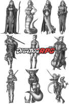 RPG characters: Pack36
