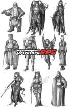 RPG characters: Pack37