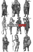 RPG characters: Pack38