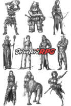 RPG characters: Pack40