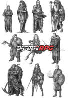RPG characters: Pack41