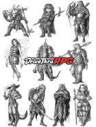 RPG characters: Pack42