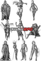 RPG characters: Pack43