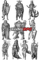RPG characters: Pack44