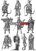 RPG characters: Pack45