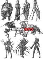 RPG characters: Pack46