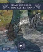 Hoary River Dock RPG Battlemap
