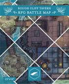 Rough Cliff Tavern RPG Battlemap