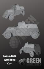 Russo-Balt Armored Car