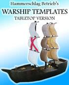 WARSHIP TEMPLATES - TABLETOP VERSION