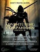 Adventuring Companion Classes and Characters—a supplement for duet 5e