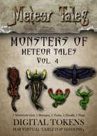 Monsters of Meteor Tales Vol. 4 - Digital Tokens
