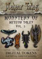 Monsters of Meteor Tales Vol. 5 - Digital Tokens
