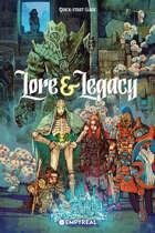 Lore & Legacy - Quick-Start Guide (English version)