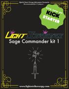 Light Strikers Sage Commander kit 1