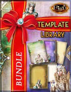 All in One Template Packs Books [BUNDLE]