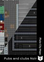 Modern warehouse battlemap