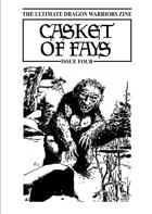 Casket of Fays #4 – a Dragon Warriors RPG fanzine