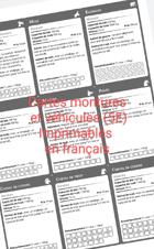 Cartes de Montures et Véhicule s 5e (SRD) en français
