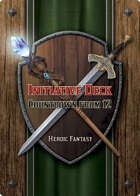 Countdown from 12 Deck (Heroic Fantasy)