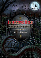 Countdown from 12 Deck (Gothic Horror)