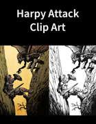 Harpy Attack Clip Art