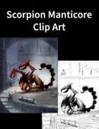 Scorpion Manticore Clip Art