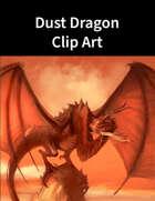 Dust Dragon Clip Art