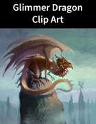 Glimmer Dragon Clip Art